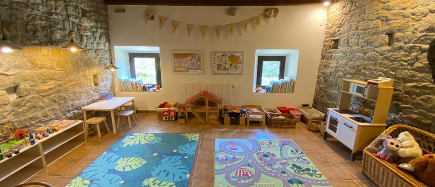 Indoor children's playroom