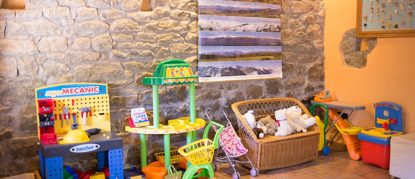 Sala interior de jocs infantils